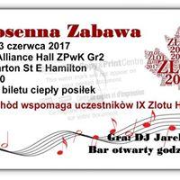 Wiosenna Zabawa - Zlot 2017