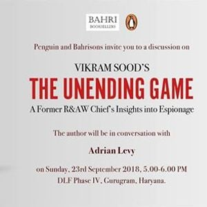 The Unending Game by Vikram Sood
