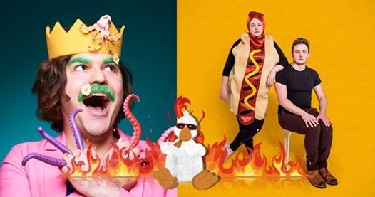 John Luke Roberts & The Delightful Sausage Fringe Previews