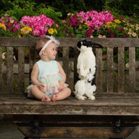 Easter Bunny Portraits by Ivey Photography