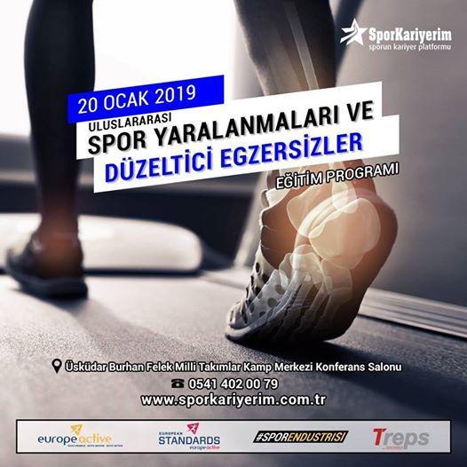 Spor Yaralanmalar ve Dzeltici Egzersizler Eitimi
