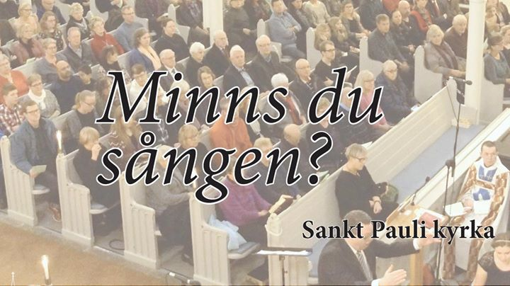Live stream: Hope for this nation - Gteborg 2 maj at Sankt