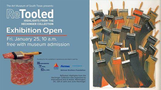 Exhibition Opens ReTooled