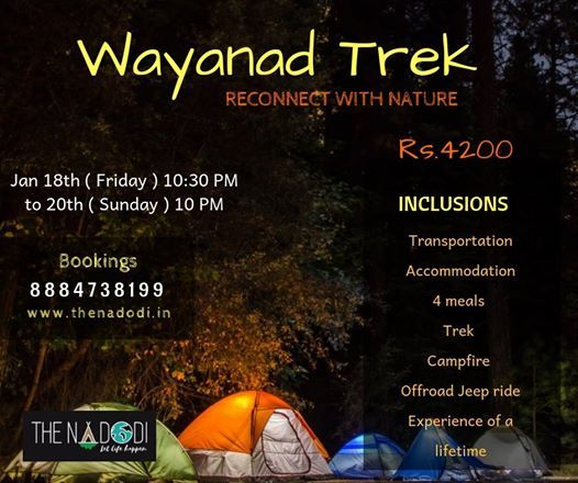Wayanad - Chill and Trek