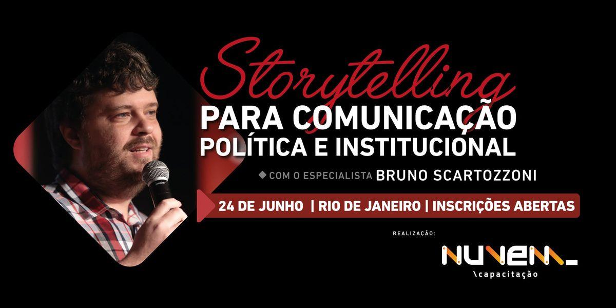 Storytelling para Comunicao Poltica - Rio de Janeiro (RJ)