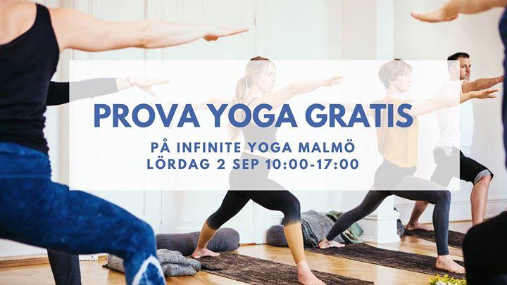 yoga malmö gratis