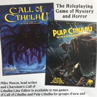 Call of Cthulhu RPG with Mike Mason