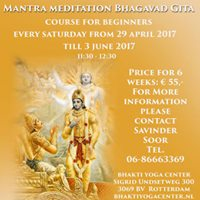 Mantra meditatie Bhagavad Gita start 29 april 2017