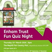 Enham Trust Fun Quiz Night