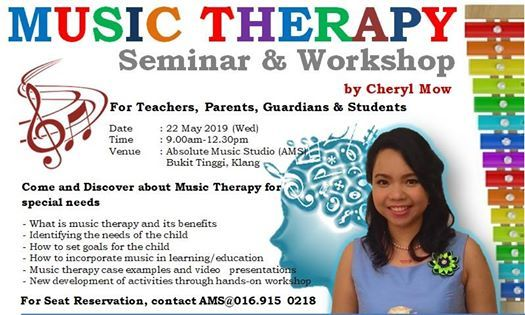 Music Therapy Seminar & Workshop Dealing with Special Needs