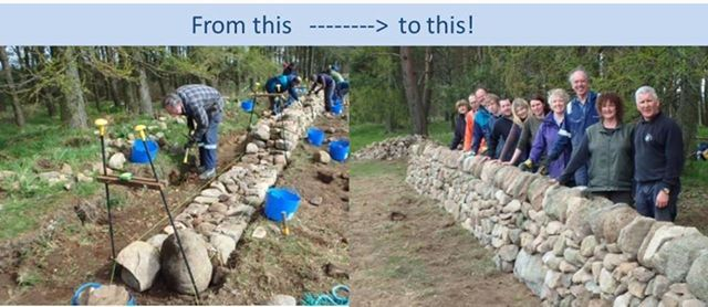 Dry Stone Walling for Beginners - a two day course