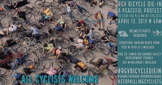 RGV Bicycle Die-In