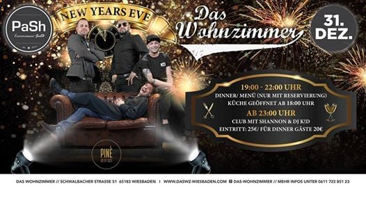 New Years Eve Party Das Wohnzimmer At Das