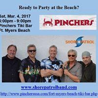 Shore Patrol Party at Pinchers FMB