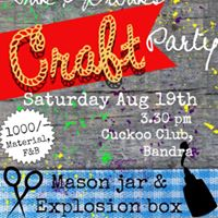 Ink and Drink Craft Party