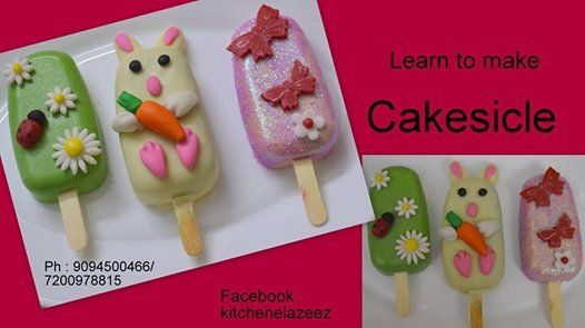 Baking Class on Cakesicle for Ladies