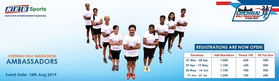 Chennai Half Marathon 2019