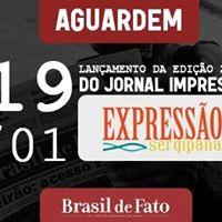 Lanamento do Jornal Impresso da Expresso Sergipana