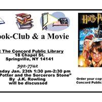 Book Club and a Movie