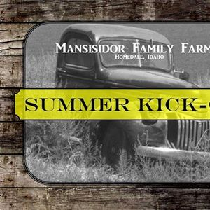 2019 Summer Kick Off Outdoor Market at Mansisidor Family Farms