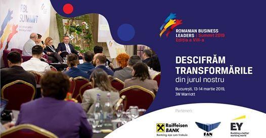 RBL Summit 2019 - Descifrm transformrile din jurul nostru