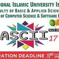 ASCII17 --- IIUI Registrations