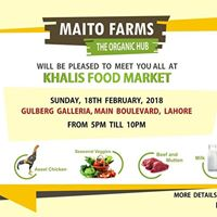 Maito Farms in Khalis Food Market