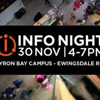 SAE Byron Bay Info Night