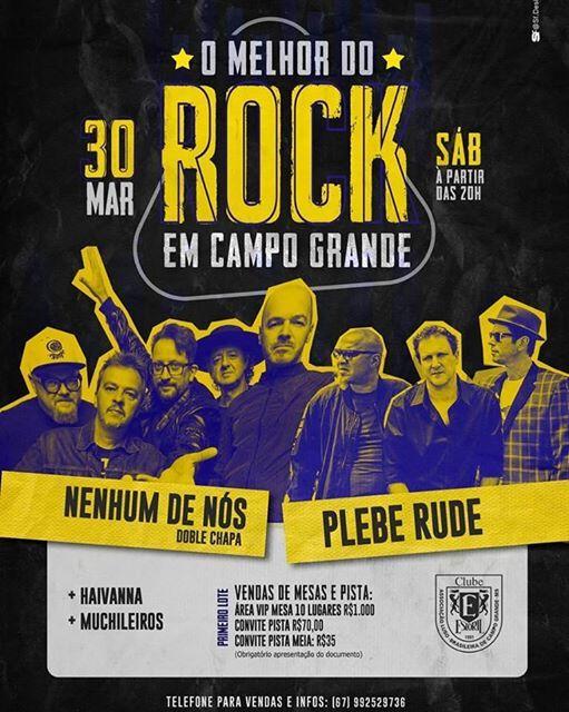 O melhor do Rock em Campo Grande