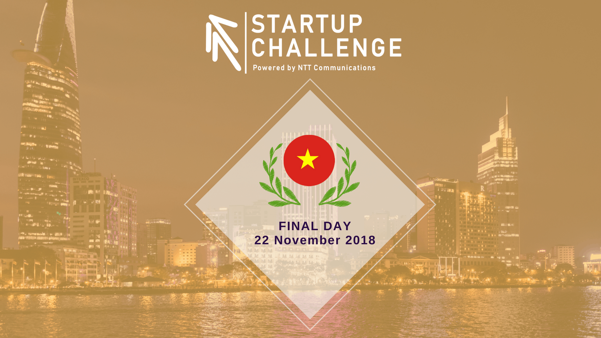 NTT Com Startup Challenge 2018 - Final Day Vietnam