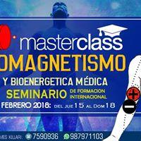 MasterClass Biomagnetismo y Bioenergtica Mdica