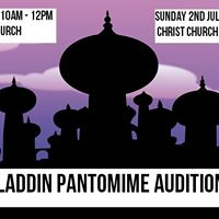 Aladdin Panto auditions - A Quinton community production