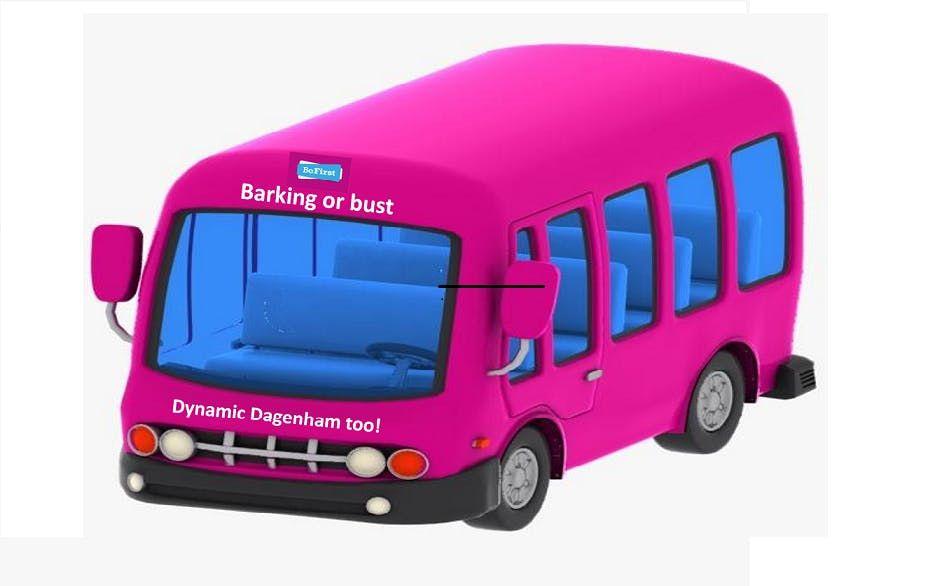 Barking or bust tour - dynamic Dagenham too