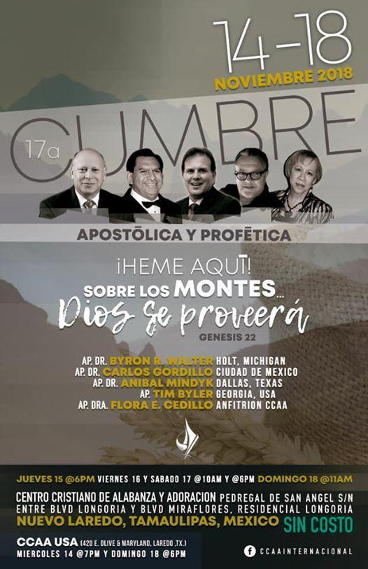 17a. Cumbre apostlica y proftica
