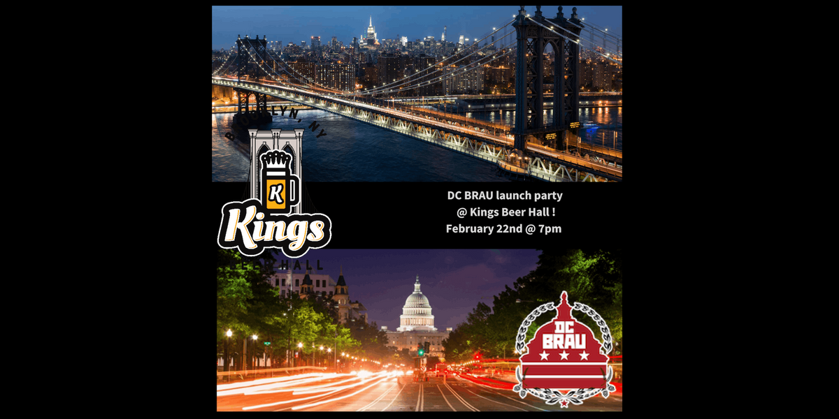 DC BRAU LAUNCH PARTY