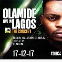 Olamide Live in Lagos the Concert