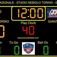 Giaguari Torino vs Giants Bolzano 1Divisione FIDAF