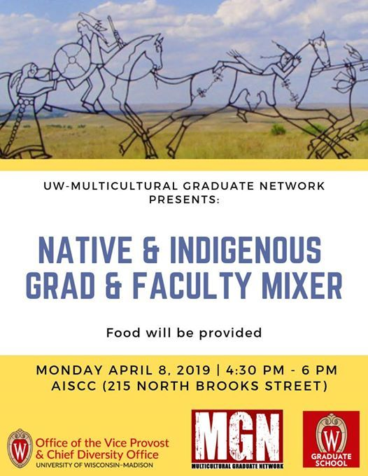 Madison Native And Uw Grad Who Was >> Mgn Native Indigenous Grad Student Mixer At American Indian