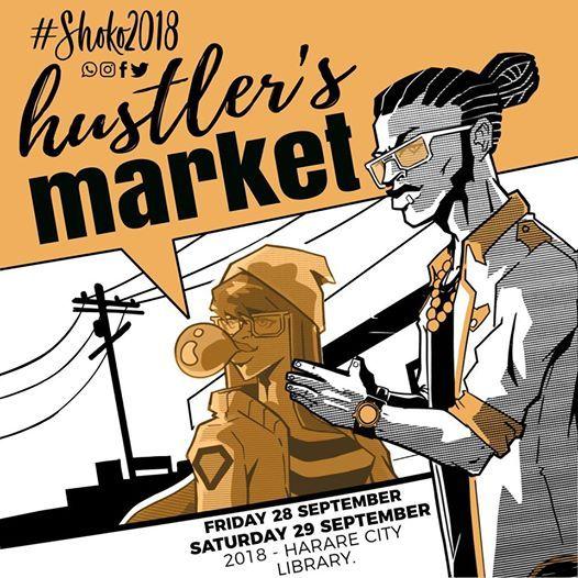 Hustlers Market At Shoko Festival 2018