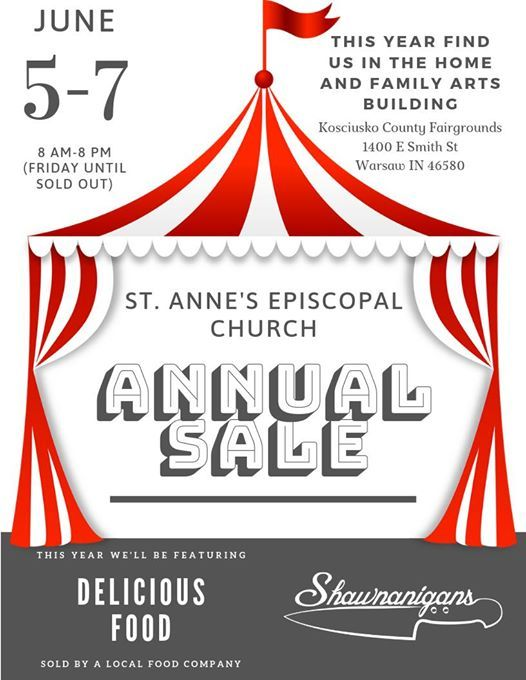 St. Annes Annual Sale