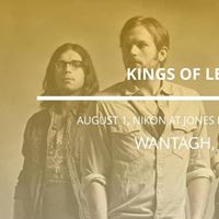 Kings of Leon in Wantagh