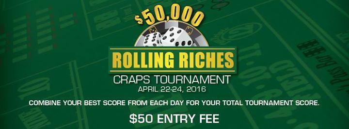 Craps tournaments in las vegas tableau de chiens jouant au poker