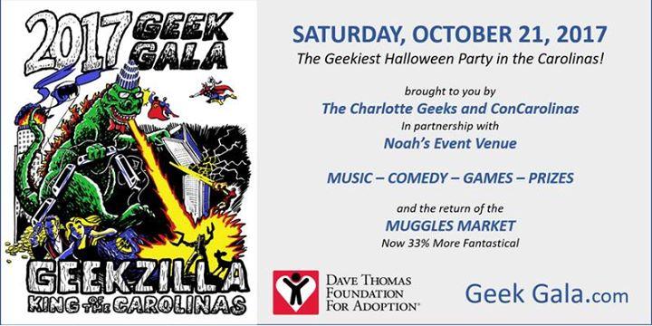 2017 Geek Gala Geekzilla King of the Carolinas