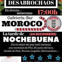 CONCIERTO Cordones Desabrochaos (24 DIC 1700h MOROCO)