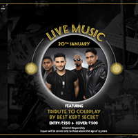 Live Music feat. Best Kept Secret - Tribute to Coldplay
