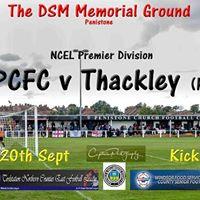 PCFC v Thackley - Toolstation NCEL Premier Division