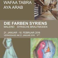 Vernissage Die Farben Syriens