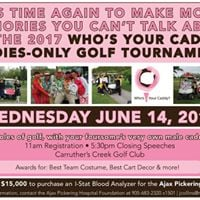 Whos Your Caddy Ladies-Only Golf Tournament