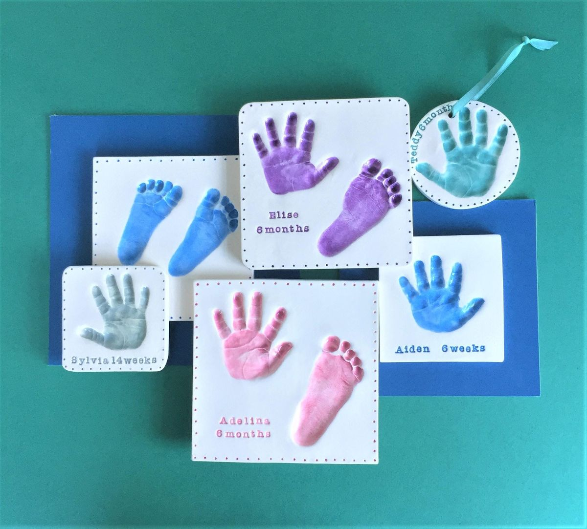 Baby clay imprint session BS16 (20 for single 35 for double)