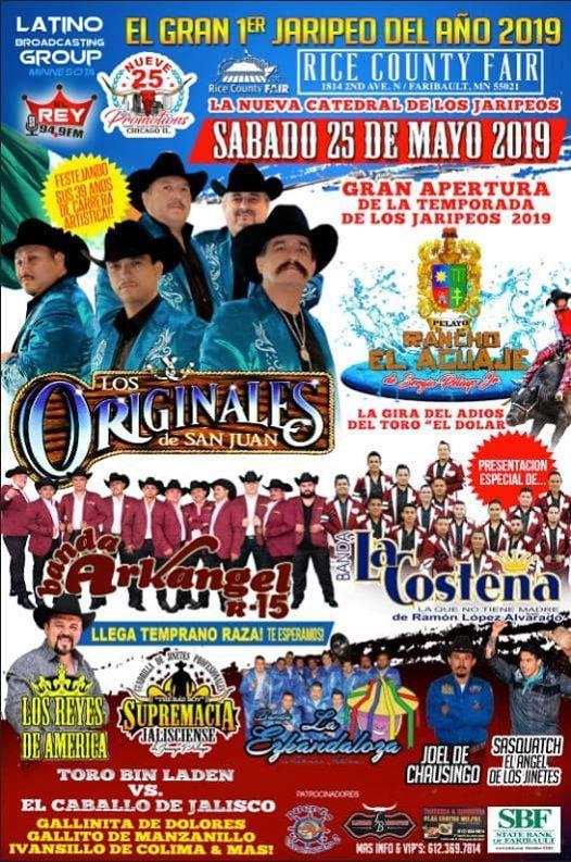 Gran 1er Jaripeo Del Año 2019 at Rice County Fair, Faribault